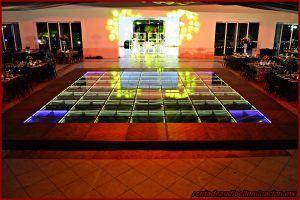 Renta de pistas de baile iluminadas